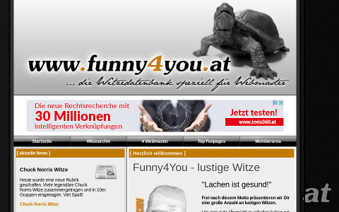Portfolio PHP Homepage funny4you.at